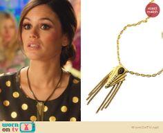 Zoe's necklace on Hart of Dixie. Outfit Details: http://wornontv.net/24483 #HartofDixie #fashion