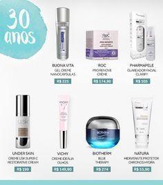 Cuidados com a pele: saiba em quais cosméticos investir aos 20, 30 e 40 anos