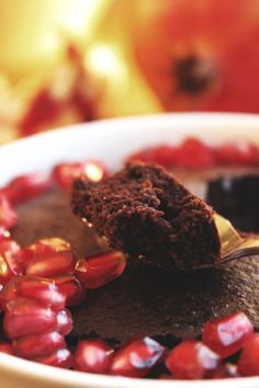 Lynhurtig kokos-chokoladekage til to