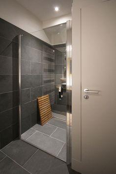 maison de montagne atelier joseph salle de bain ardoise grise - Salle De Bain Ardoise Et Pierre