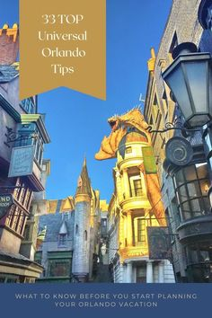 Start planning your Universal Orlando vacation today! Find out what you need to know to decide where to stay, how long to visit, and what to do when you get there. Tips for making the most of your visit, including lots of info about the Wizarding World of Harry Potter. Universal Studios Florida, Universal Orlando, Orlando Theme Parks, Orlando Vacation, Cheap Travel, Jurassic Park, Best Vacations, Things To Know, Touring