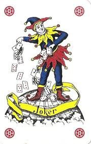 Yuri - speelkaart joker