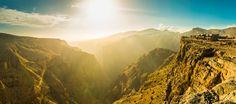 Life on the edge: The Alila Jabal Akhdar cliffside hotel teeters metres above sea level in Oman's Al Hajar mountain range. Oman Hotels, Hotels And Resorts, Luxury Hotels, Castaway Island, Sultanate Of Oman, Travel Expert, Travel Guide, Mountain Resort, Island Resort