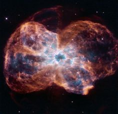 Hubble Views a Colorful Demise of a Sun-like Star (Source: NASA image of the Day) #astronomy #nasa
