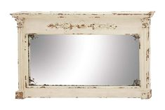 "Amazon.com: Deco 79 Wood Wall Mirror 59""W, 36""H - 14839: Home & Kitchen"