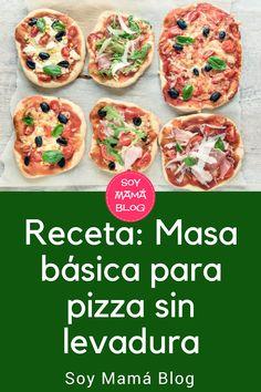 Receta: Receta: Masa básica para pizza sin levadura Empanadas, Meat Lovers Pizza, Stromboli Recipe, Grilled Pizza, Pastry And Bakery, Pizza Recipes, Healthy Cooking, Food Porn, Easy Meals
