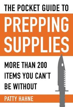 Pocket Guide To Prepping Supplies - Dragon's Breath Armory