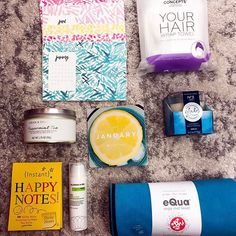 I am obsessed with the January @popsugarmh box!  This desk calendar, tea, candle and Happy Notes are perfect for my new office.  #PopsugarMustHave The full reveal is over on the blog!