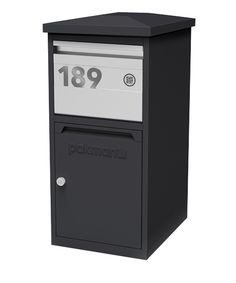 LARGE SECURE PARCEL// LETTER BOX WEATHERPROOF LOCKABLE STYLISH PARCELBOX WOW