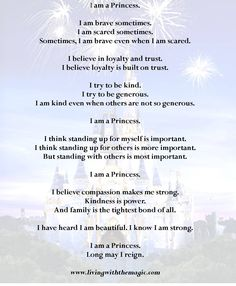 I am a Princess_ I love this from Sophia the First