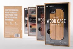 Recover iPhone case packaging | CMYK Nate | Creative design in Portland, Oregon, USA