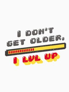 Getting Old, Classic T Shirts, Gaming, Color, Ideas, Design, Art, Getting Older, Videogames