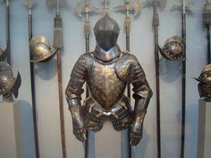 Medieval Armor, Weapons, and Helmets by IslesPunkFan, via Flickr