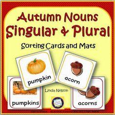Autumn plural nouns