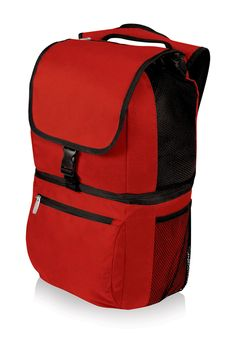 Picnic Time Red Zuma Cooler Backpack Red Backpack 203371e7ef78b