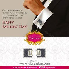 A small gift that will bring a big smile on your dad's face on Father's Day! smile emoticon #solitarerings #onlinejewellery #earrings #diamondsolitairerings #engagementrings #goldjewellery #Indiangiftjewellery #budgetjewellery #jadaujewellery #platinumrings #diamondnecklaces #goldbangles #girlsearrings.