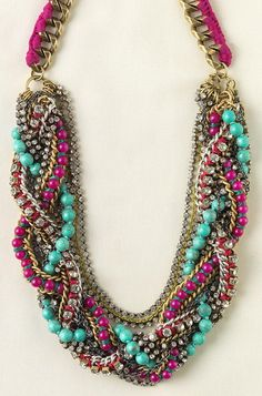 Everything about this Stella and Dot necklace makes me happy. EVERYTHING.
