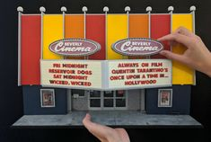 This Man Has Spent Quarantine Making Ridiculously Meticulous Miniatures of L.A. Landmarks New Beverly Cinema, Hot Dog Stand, West Los Angeles, Camera Shop, Reservoir Dogs, Marketing Jobs, Googie, Street Artists, This Man