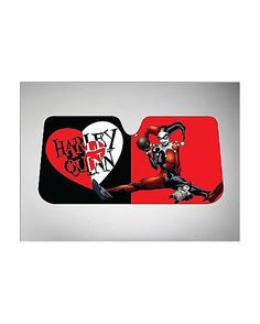 Harley Quinn Sun Shade - Spencer's