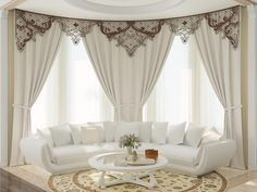 curtain designs for living room living room curtains modern curtain designs window curtains designs Classic Curtains, Elegant Curtains, Modern Curtains, Hall Curtains, Brown Curtains, Window Curtains, Drapery, Living Room Windows, Living Room Decor
