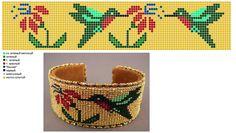off loom beading techniques Loom Bracelet Patterns, Bead Loom Bracelets, Beaded Jewelry Patterns, Bead Crochet Patterns, Peyote Patterns, Beading Patterns, Beadwork Designs, Native Beadwork, Beading Techniques