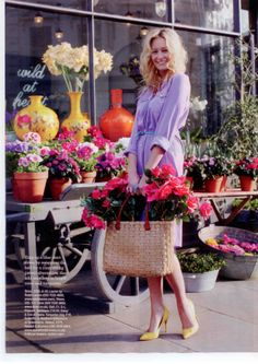 """Nicky Tibbles"""" Wild at Heart Florist Shop, used as location for SS fashion shoot"""
