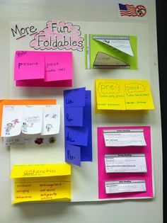 Love me some Foldables!