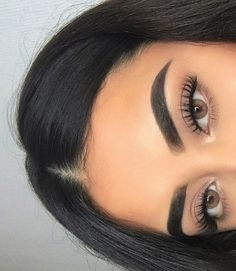 Eye Makeup Tips.Smokey Eye Makeup Tips - For a Catchy and Impressive Look Kiss Makeup, Cute Makeup, Eyebrow Makeup, Gorgeous Makeup, Pretty Makeup, Makeup Looks, Eyebrow Tinting, Makeup Eyebrows, Eye Brows