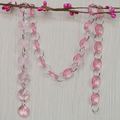 Crystal Bead Chain Crystal Ball, Clear Crystal, Quartz Crystal, Beaded Curtains, Diy Curtains, Diy Garland, Healing Stones, Handmade Crafts, Decorative Accessories