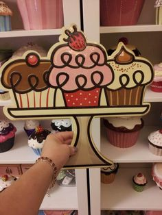Cupcake sign  Visit & Like our Facebook page! https://www.facebook.com/pages/Rustic-Farmhouse-Decor/636679889706127