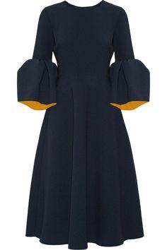 Roksanda | Yasmin bonded stretch-crepe midi dress | NET-A-PORTER.COM