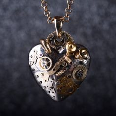 Steampunk Heart. Mechanic: Korpan Pasha