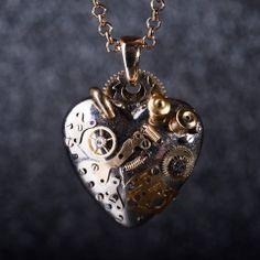 Steampunk Heart. Mechanic: Korpan Pasha