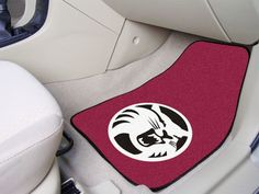 """Cal State - Chico 2-pc Carpeted Car Mats 17""""x27""""  #SDSSUPPLYCORP #sdsmarket"""