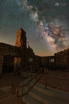 *Milky Way Steps At The Crest House Ruins* As one of my first night-time captures with my new Sony A7SII, I was  interested to see how well it would do.... - Mike Berenson - Google+