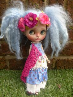 ARIES,  OOAK Custom Blythe Doll  (REDUCED).