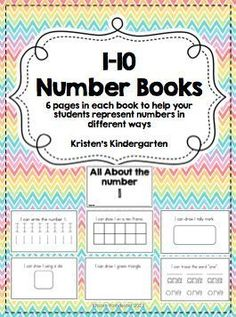 1-10 Number Books perfect for the beginning of the school year, especially with Kinders! :) www.kpoindexter.w... (scheduled via http://www.tailwindapp.com?utm_source=pinterest&utm_medium=twpin&utm_content=post83174061&utm_campaign=scheduler_attribution)