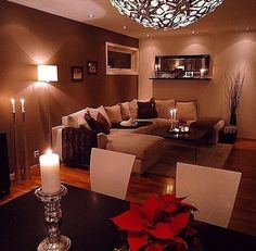 So cozy!! ...and what kind of light is that..it's so different, love it!!