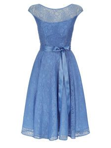 Buy Kaliko Beaded Lace Prom Dress, Light Blue from our Women's Dresses Offers range at John Lewis & Partners. Floral Prom Dresses, Beaded Prom Dress, Floral Maxi Dress, Beaded Lace, Bridesmaid Dresses, Bridesmaids, Dress Prom, Wedding Dresses, Light Blue Cocktail Dress