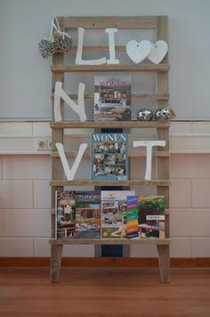 pronkrek,tijdschriftenrek,kadorek,fotorek