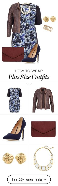 """plus size chic fall date night"" by kristie-payne on Polyvore featuring Studio 8, Tiffany & Co., Dorothy Perkins, Kate Spade, maurices and ALDO"