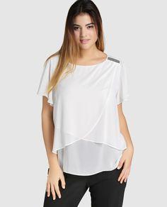 Resultado de imagen para blusas tallas grandes