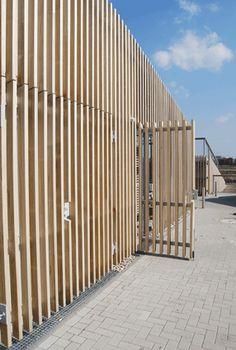 accoya facade pumpinstation JJJM van den Burg | SOOH ©