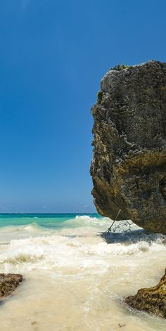 Cozumel, Mexico | Enjoy the sea breeze, the white sand, and the Caribbean sun at Paradise Beach.