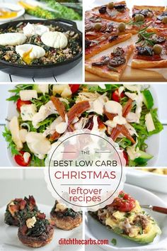 the best low carb christmas leftover recipes