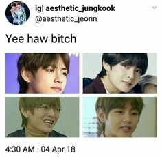 lol bts funny joke v kim taehyung funny meme Kim Taehyung Funny, Bts Taehyung, Solo Pics, Bts Imagine, Seokjin, Hoseok, Bts Members, Derp, Thing 1