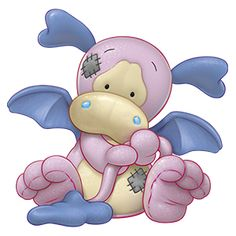 Flash… the pretty Pink Dragon who never gets in a flap... make a wish and all your dreams will come true!