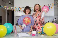 DIY Giant Lollipop by Larsson och Lyth