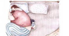 Snezhana Soosh è un'artista ucraina di 37 anni. Ha iniziato a pubblicare su Instagram alcune toccanti illustrazioni di un padre con la sua piccola.