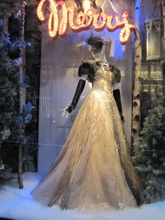 Bergdorf Goodman - Holiday Windows 2010